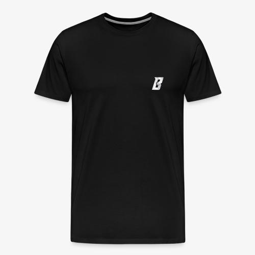 White PNG Icon - Premium T-skjorte for menn