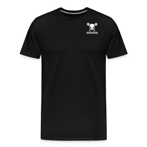 gg logo 2x png - Männer Premium T-Shirt