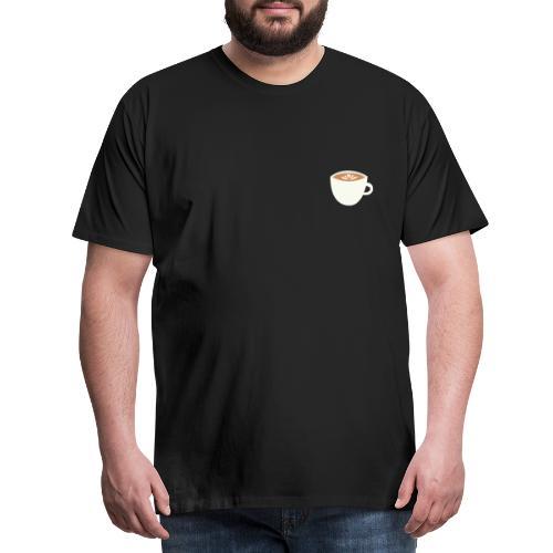 'Cappuccino' - Mannen Premium T-shirt