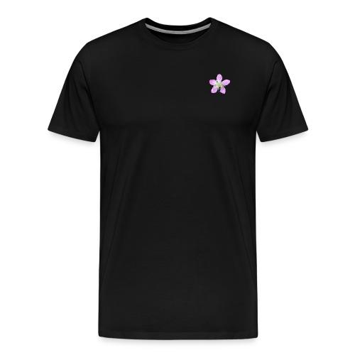 Mosca liba una flor - Camiseta premium hombre