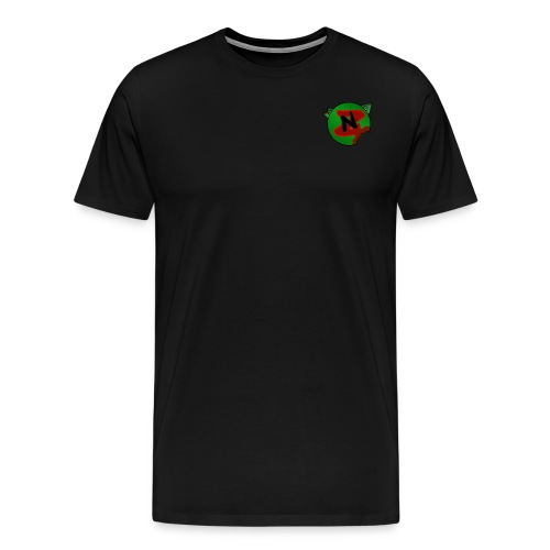 Neko Zombie__Logo Oficial - Camiseta premium hombre