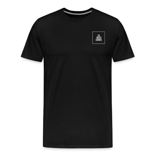 Premium Black 20Hz Logo Shirt - Men's Premium T-Shirt