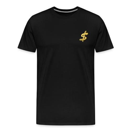 black n gold stax - Men's Premium T-Shirt