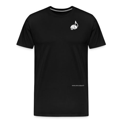 logo_amnu2-01 - T-shirt Premium Homme