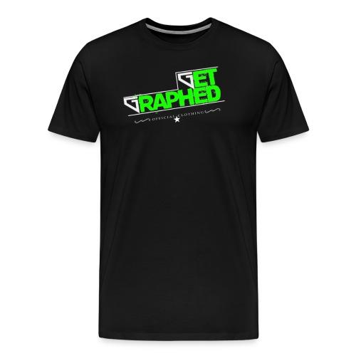 Get Graphed - GREEN - Men's Premium T-Shirt