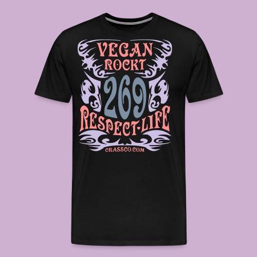 VEGAN TRIBAL - Männer Premium T-Shirt