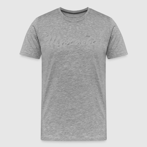 White Lettering - Men's Premium T-Shirt