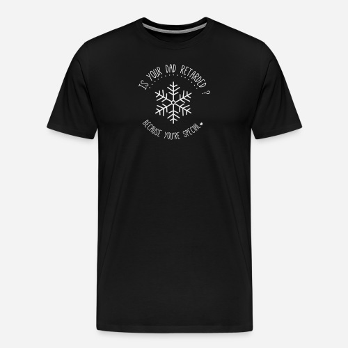 Special dad png - T-shirt Premium Homme
