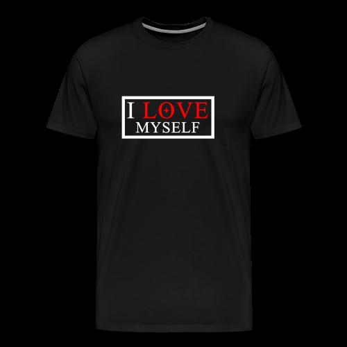 I LOVE MYSELF - Maglietta Premium da uomo