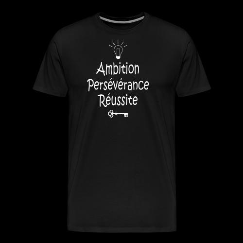 La clef de la réussite - T-shirt Premium Homme