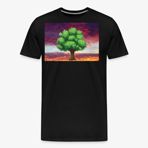 Tree in the Wasteland - Men's Premium T-Shirt