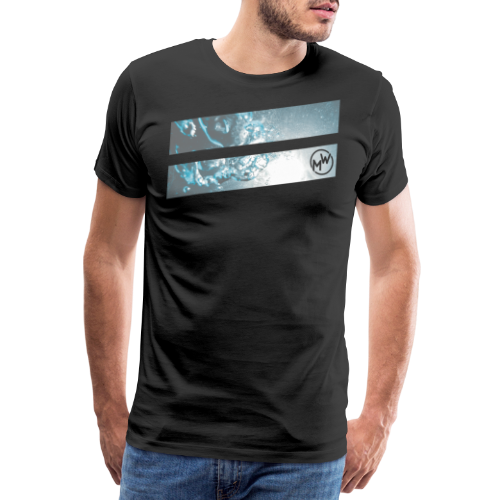 Surf Water Bubble - Männer Premium T-Shirt