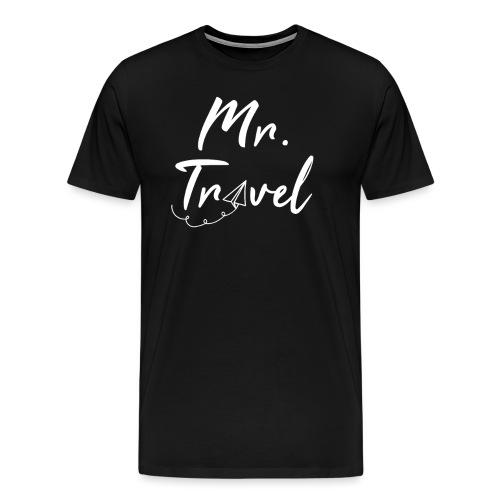 Mrs Travel - cooles Reise Shirt für Weltreisende - Männer Premium T-Shirt
