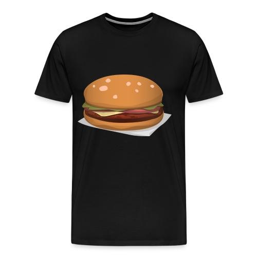 hamburger-576419 - Maglietta Premium da uomo