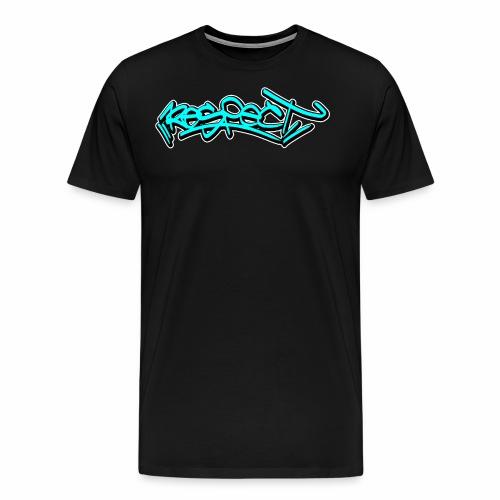 respect graffiti tag - Männer Premium T-Shirt