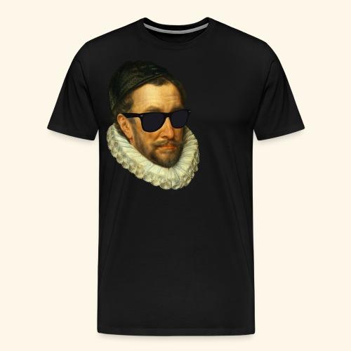 Fijn Uitgedoste Barbaar (zonder tekst) - Mannen Premium T-shirt
