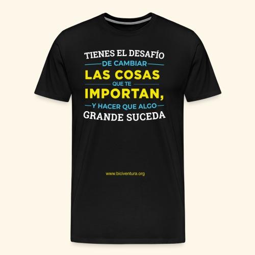 Cambia las cosas - Camiseta premium hombre