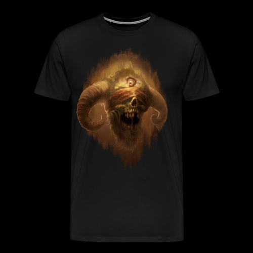 Horned Scream - Men's Premium T-Shirt