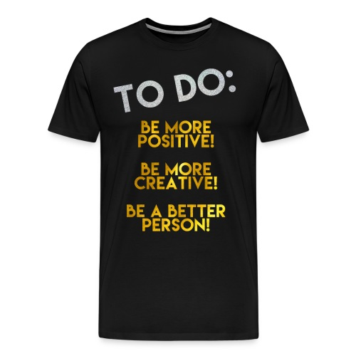 To Do List png png - Men's Premium T-Shirt