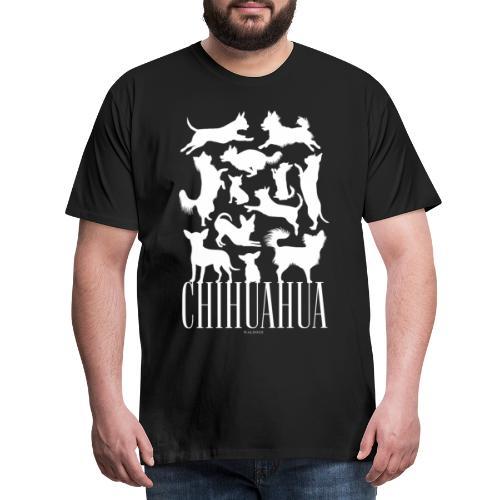 Chihuahua - Miesten premium t-paita