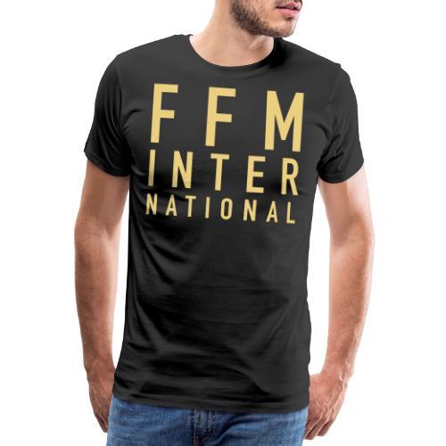 FFM INTERNATIONAL Gold - Männer Premium T-Shirt