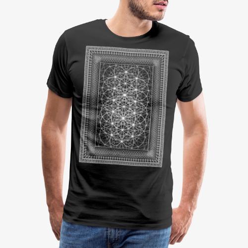 Tribal Framed Sacred Geometry - Men's Premium T-Shirt