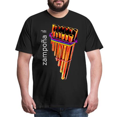 Zampoña clara - Men's Premium T-Shirt