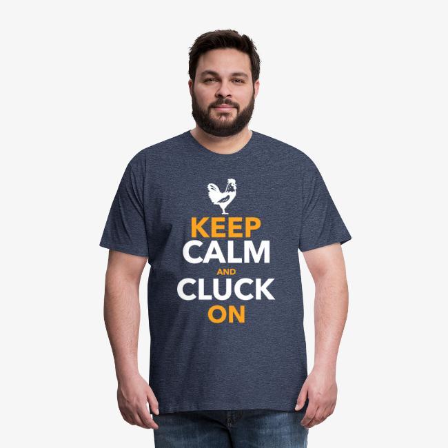 Keep Calm Cluck On