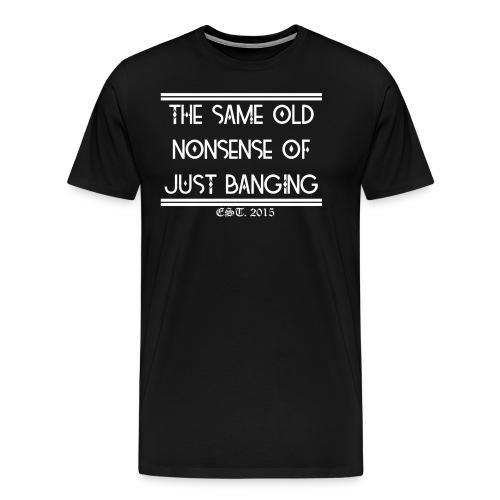 Wisdom - Premium T-skjorte for menn
