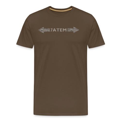 7ATEM - Herre premium T-shirt