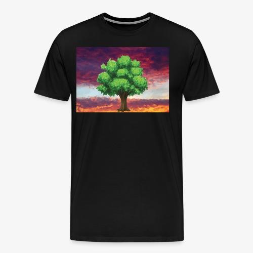 Tree in the Wasteland - Men's Premium T-Shirt