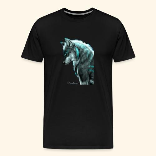 Breathmode wolf - T-shirt Premium Homme