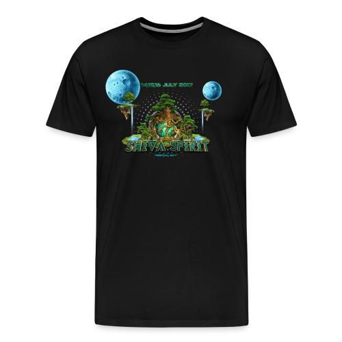 Shiva Spirit Logo - Herre premium T-shirt