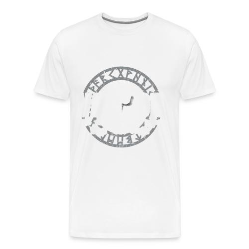 Vathor als een normale papa maar cooler vaderdag - Mannen Premium T-shirt