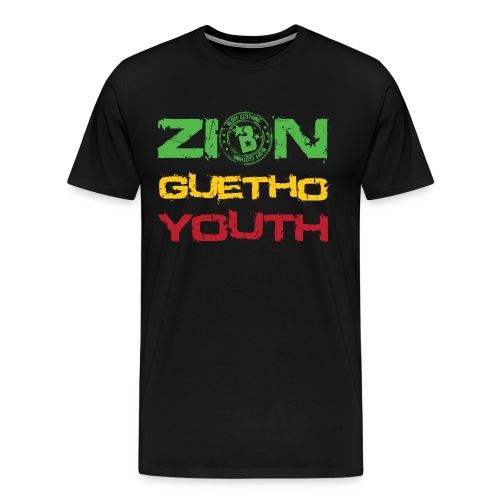 Zion Guetho Youth - Camiseta premium hombre