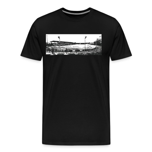 stadion - Männer Premium T-Shirt