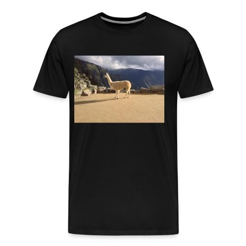 Lama la grace et la classe - T-shirt Premium Homme