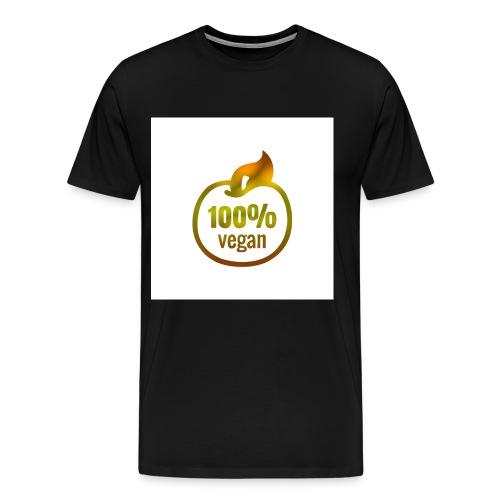 100% vegan - T-shirt Premium Homme
