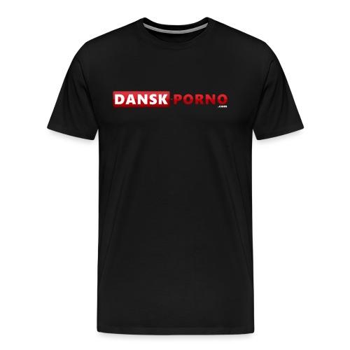 Dansk Porno - Herre premium T-shirt