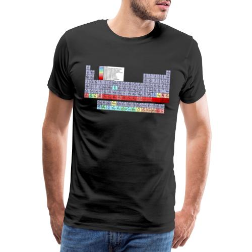 Periodensystem. - Männer Premium T-Shirt