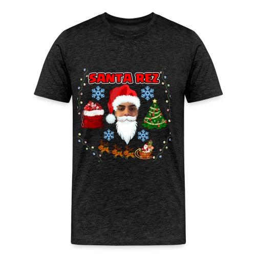 Santa Rez - Miesten premium t-paita