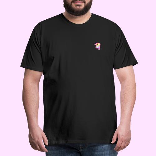 Rainbowguin - Herre premium T-shirt