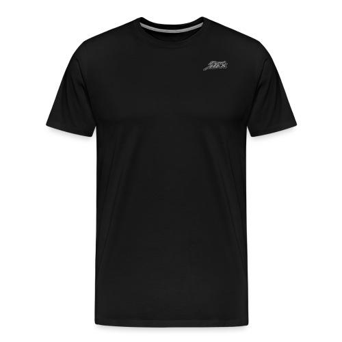 Simple Grey Logo - Männer Premium T-Shirt