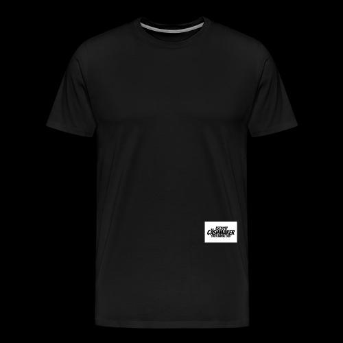 CäshMaker Logo - Miesten premium t-paita