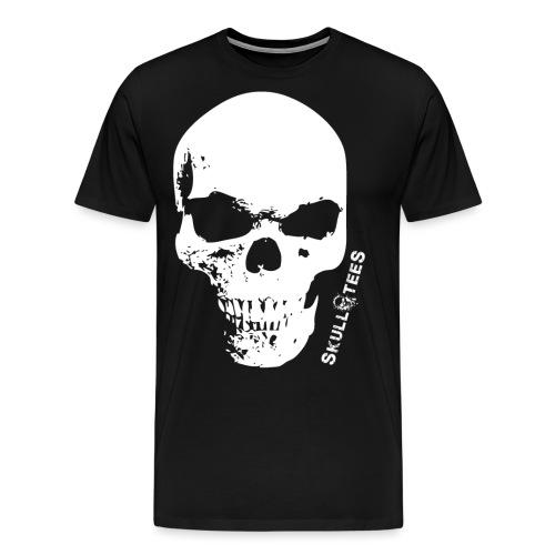 skullGROSS weiss png - Männer Premium T-Shirt