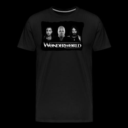 Wonderworld Black and white - Premium T-skjorte for menn