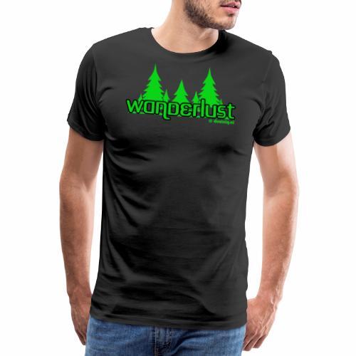 Wanderlust - Mannen Premium T-shirt