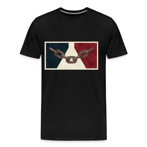 Black County Flag - Men's Premium T-Shirt