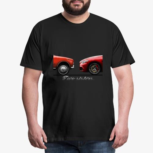 Alfa Giulia Old and New - Maglietta Premium da uomo