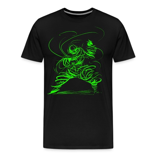 Kung Fu Sorcerer / Kung Fu Wizard - Men's Premium T-Shirt